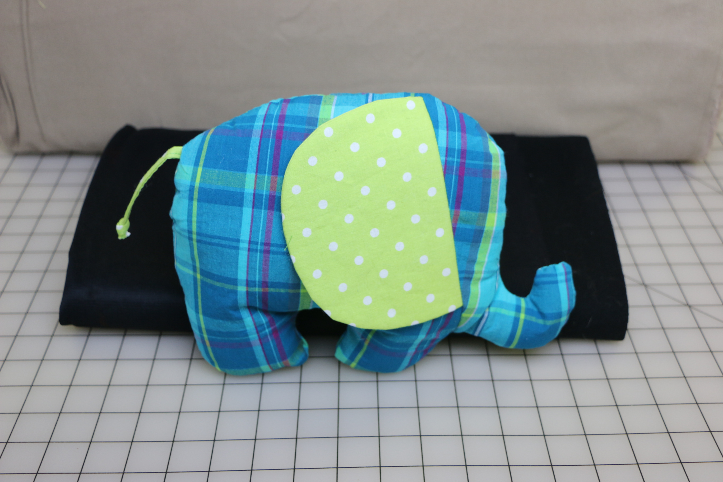 Stuffy Elephant Sewing Project