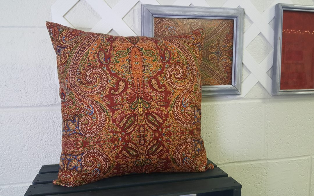 Envelope Pillow Sewing Class for Adults