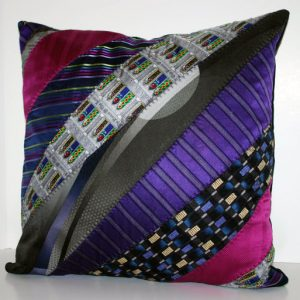 18x18 Neck Tie Pillow